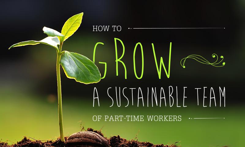 grow a sustainable team
