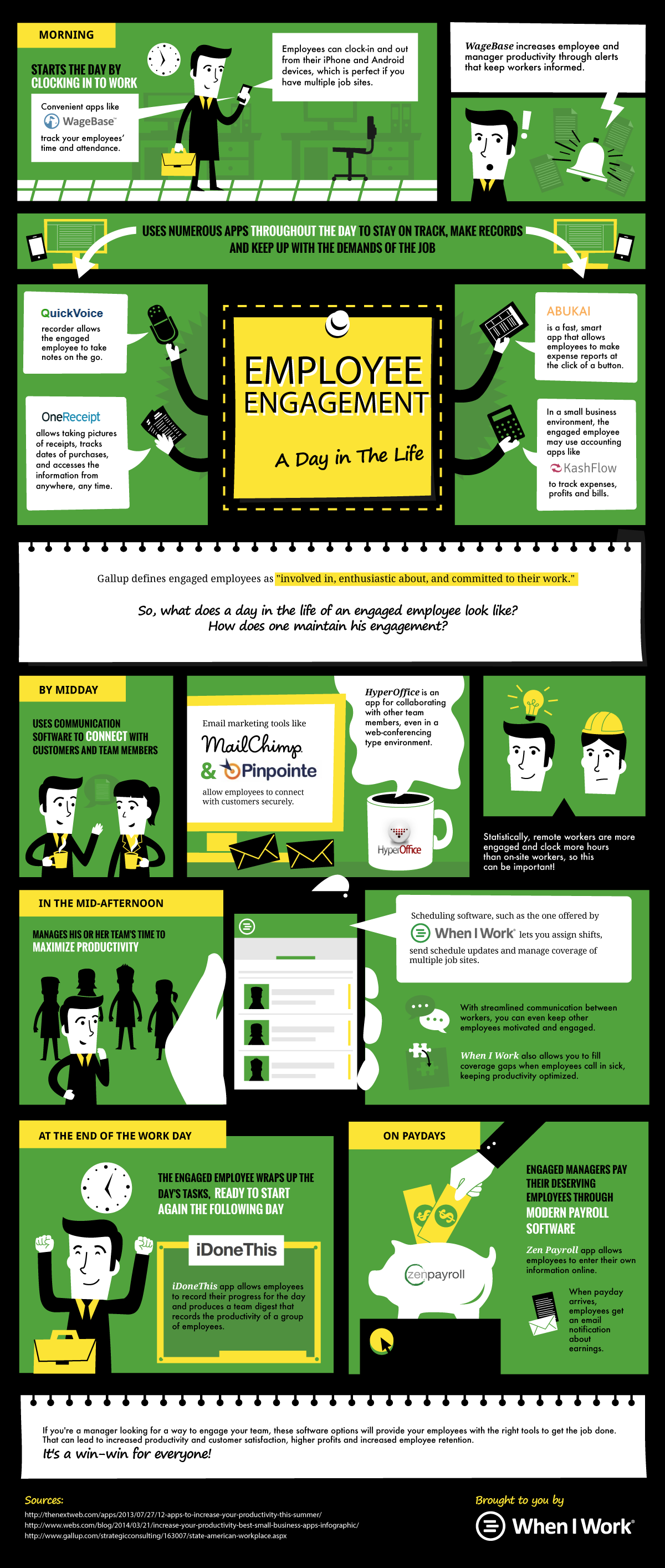 Employee Engagement: A Day In The Life of Your Employees (IG)