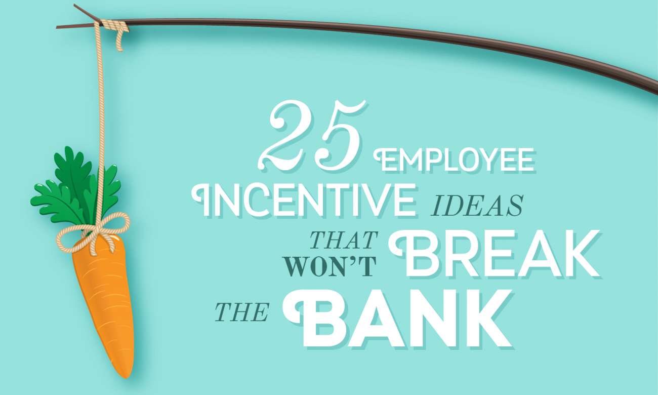 25 Employee Incentive Ideas That Won't Break The Bank - When