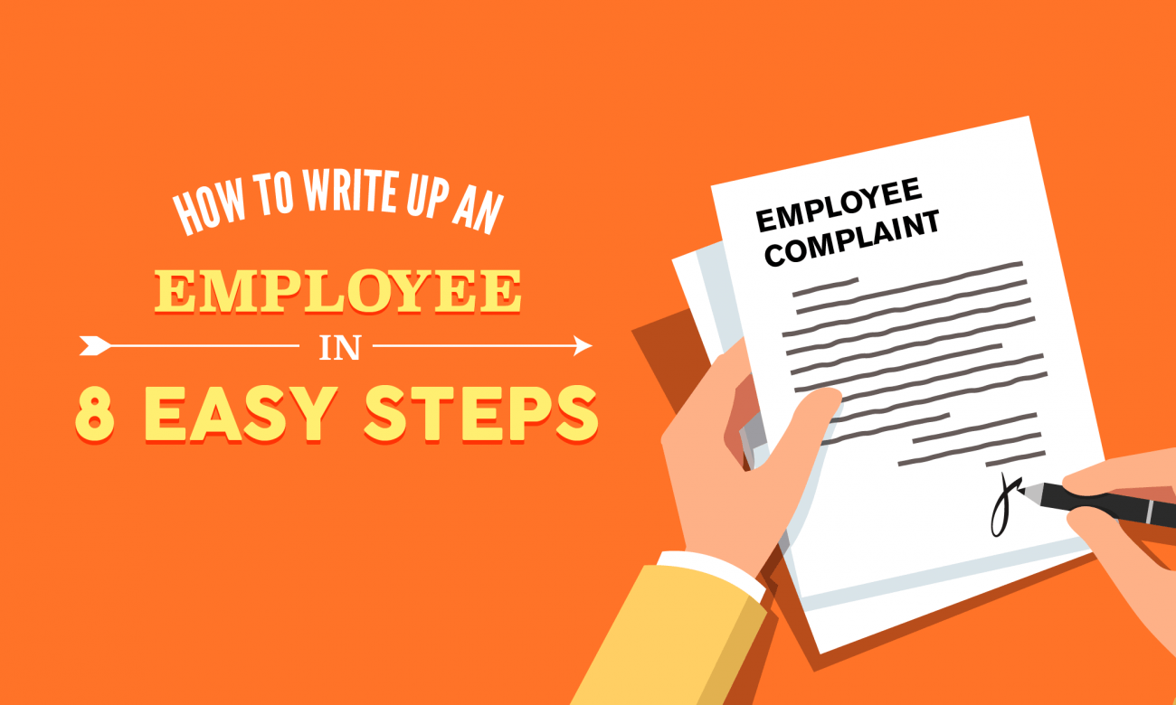 How To Write Up An Employee In 8 Easy Steps When I Work