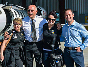 Latitude Air Pilots and staff