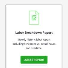 labor breakdown report