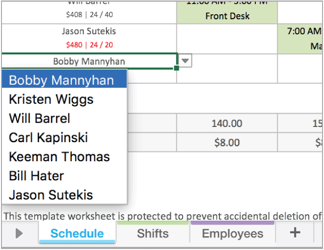 Excel Weekly Work Schedule Template from marketing-assets.wheniwork-production.com