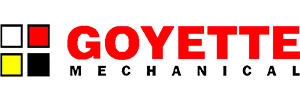 graphic of goyette mechanical logo