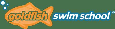 graphic of goldfish swim-school logo